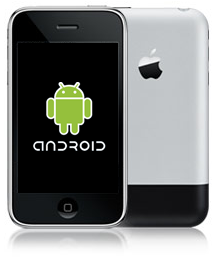 androidiphone2G